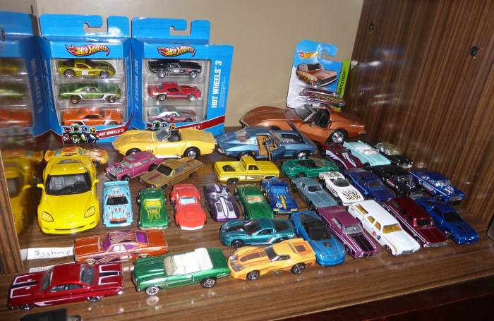 40 Chevrolets in Display Case
