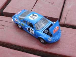 Bburago Renault Alpine 1:24 scale