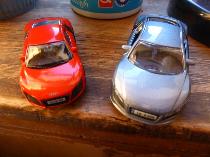 Audi R8 Bburago and RMZ